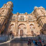 Trabajos en la Catedral de Málaga